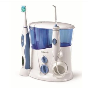 Water pik complete set toothbrush and floss